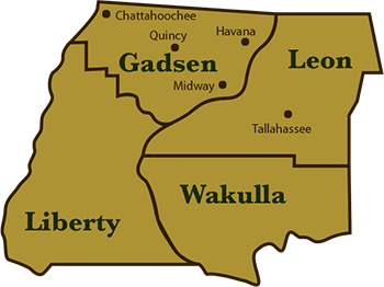 Lolley's Tree Service Area inlcudes Gadsen, Leon, Wakulla, and Liberty